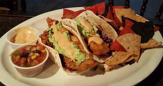 Ladysmith, WI: Fish Tacos @ Pickled Gill