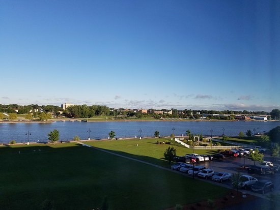 Bay City, MI: River view from 5th floor