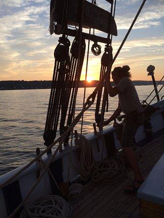 Belfast, ME: Sunset Sail