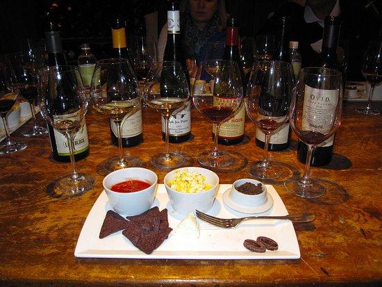 Walland, Tennessee: Wine Tasting in the Wine Room in Cellar, Below The Barn