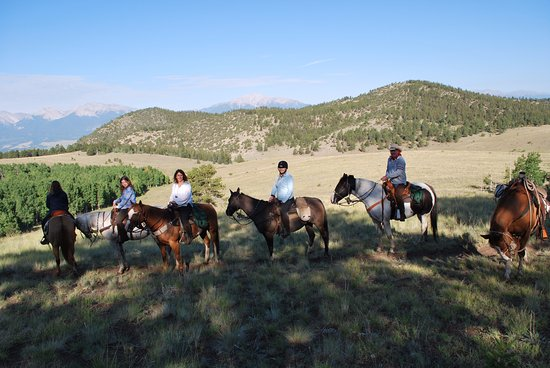 Elk Mountain Ranch: the riding and the views