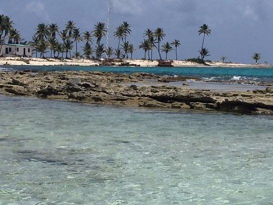 Long Caye, Belice: Half Moon