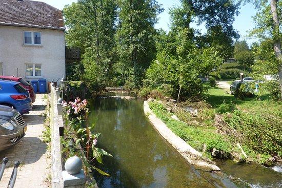 Eschdorf, Luxemburg: uitzicht vanaf terras