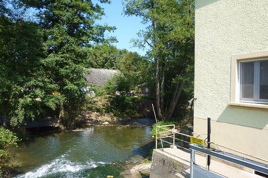 Eschdorf, Luxemburg: kleine waterval