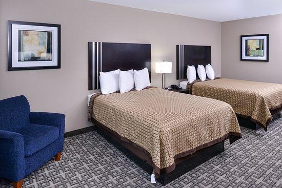 Horn Lake, Μισισιπής: Two Queen Beds