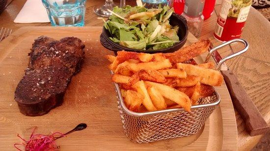 """Maussane-les-Alpilles, Francia: filet de boeuf """"black angus"""""""