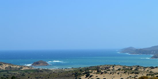 Keros beach: gomati beach
