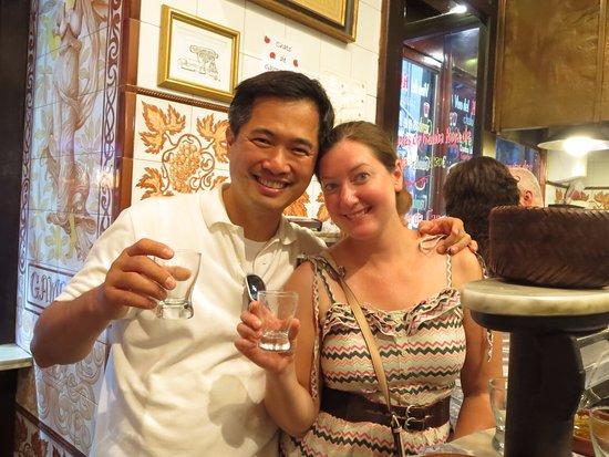 Gourmet Madrid Tours: cheers