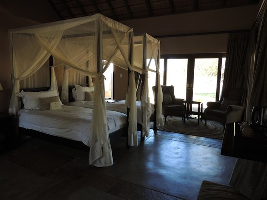 Inyati Game Lodge: Habitación