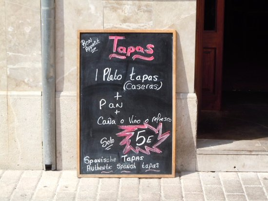 Son Servera, España: Oferta Tapas