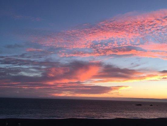 Gualala, Califórnia: Beautiful sunset