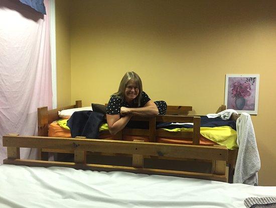 Hostel Buffalo-Niagara: Bunkbeds were great!