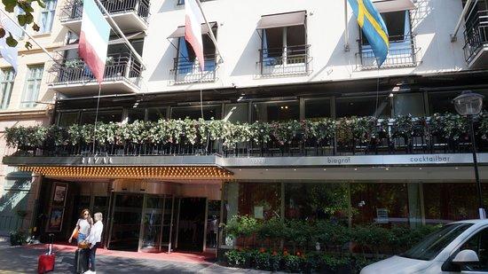 Hotel Rival: 1.Etage - Restaurant auch außen zu nutzen