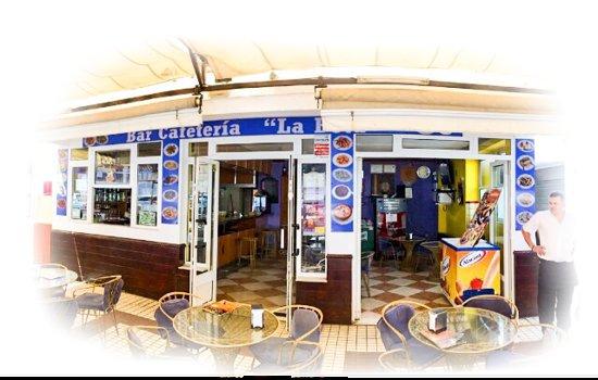 Provincia de Huelva, España: Terraza