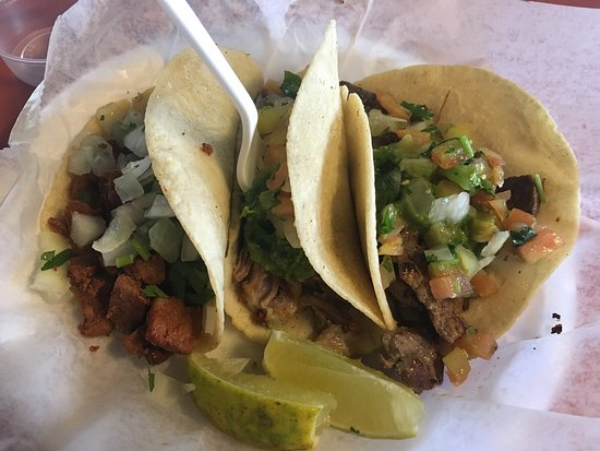 Ernesto's Taco Shop: three amigos tacos