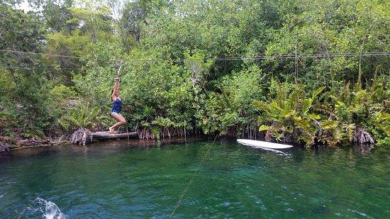 Cenote Xunaan-Ha: muy disfrutable