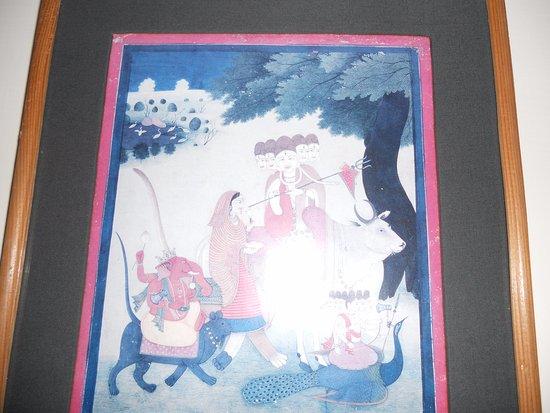 Shivalik View: Картина в номере
