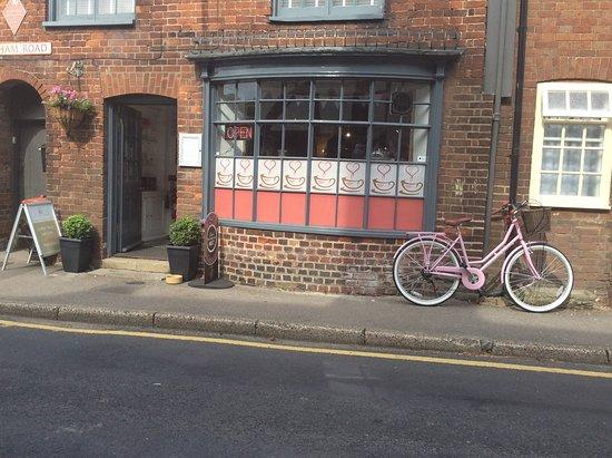 Lenham, UK: New delivery bike