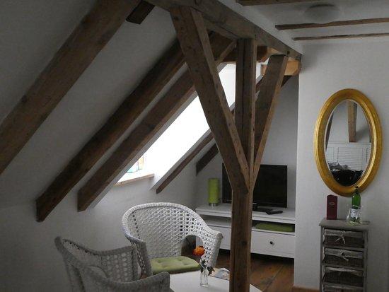 Unser Zimmer Unter Dem Dach Bild Von Pension Onkel Ernst