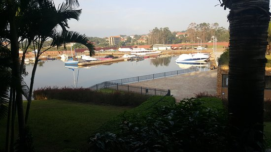 Munyonyo Commonwealth Resort: Harbor - view from room
