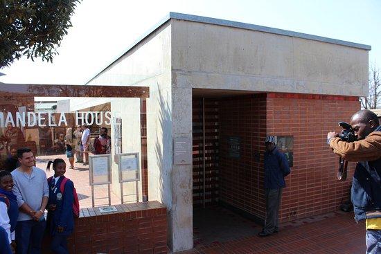 Greater Johannesburg, Sudáfrica: Casa Mandela