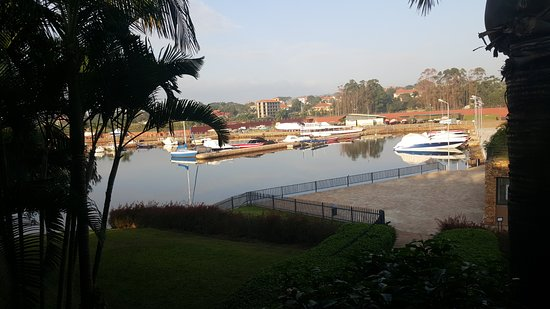 Munyonyo Commonwealth Resort: The harbor