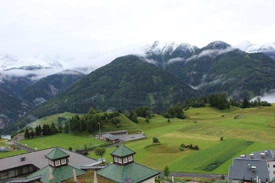 Wellness-Residenz Schalber: Met sneeuw in juli!