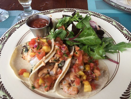 Grilled Shrimp Tacos Salad Picture Of Don Manuel S Cabo San