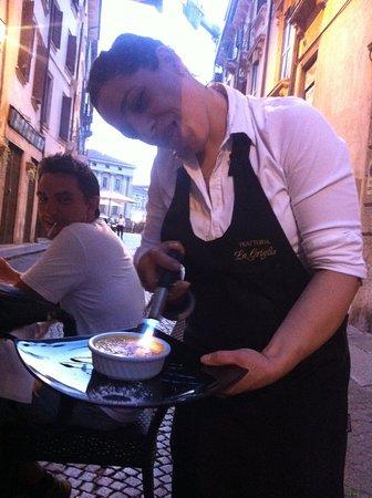 La Griglia: Die tolle Rosi :)
