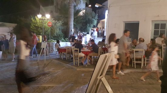 Naoussa, Greece: In every street, in every corner a restaurant
