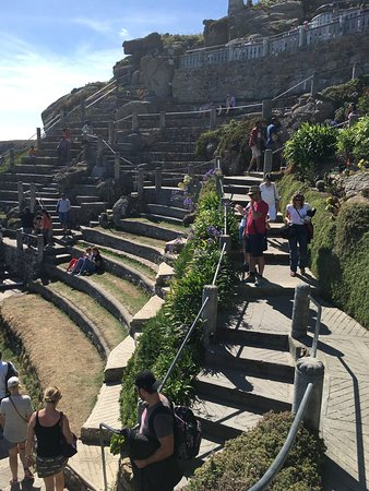 Minack Theatre: Wow!!! Wow!!! I'm truly amazed with this place!!