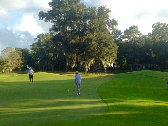 Bluffton, Carolina del Sur: Improved greens and fairways...beautiful trees