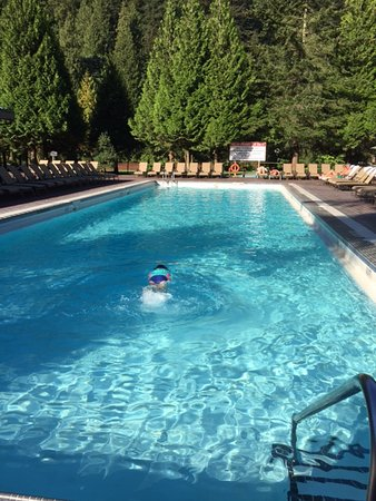 Harrison Hot Springs Resort & Spa: Lap Pool