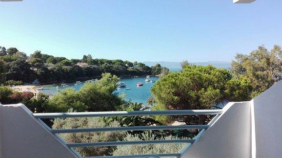 Kolios Beach Seaview Studios: Panorama verso Kolios Beach