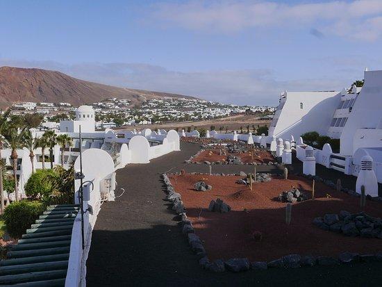 h timanfaya palace tejado hotel