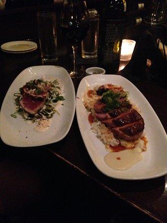 Walter's: Ahi Tuna & Duck Breast