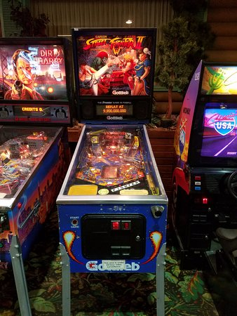 Breezy Point, MN: The arcade inside, along with pool, ping pong and other games had this sweet-ass gem
