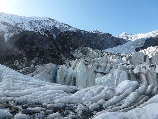 Franz Josef, Selandia Baru: Vistas del glaciar