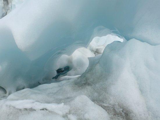 Franz Josef, Selandia Baru: Formaciones glaciares