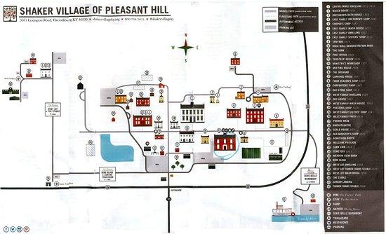 Harrodsburg, KY: Map of Property