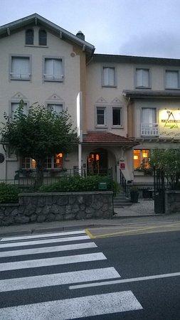 Ax-les-Thermes, Frankrike: vu de l'hôtel