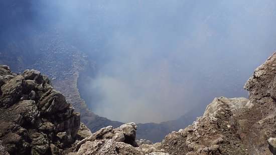 Masaya, Nikaragua: Now, you can supposedly see lava!