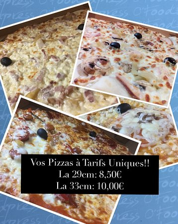 Sadirac, France: Les pizzas