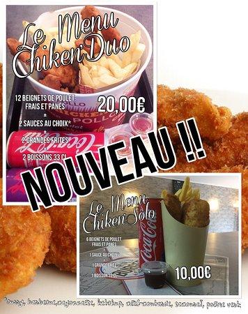 Sadirac, Γαλλία: Les chiken'menus