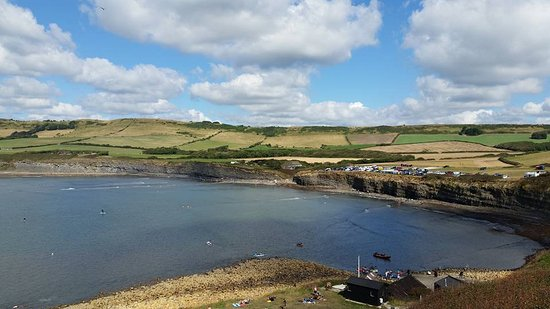 Kimmeridge, UK: view from Clavell Tower