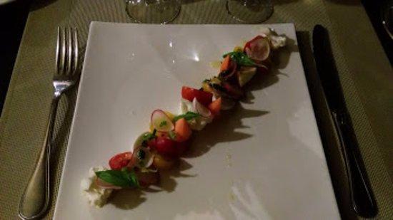 Cuers, Francia: Brochette de légumes en anchoïade