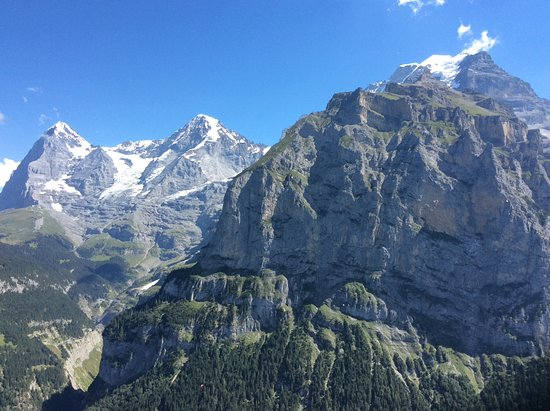 Hotel Eiger: View from our room!