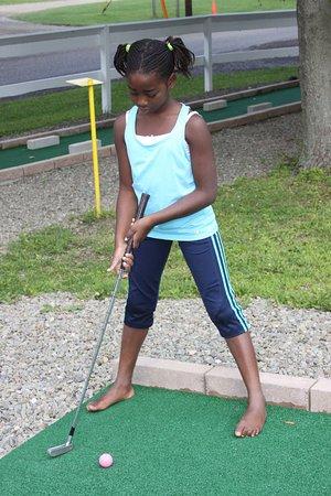 Findley Lake, État de New York : mini golf