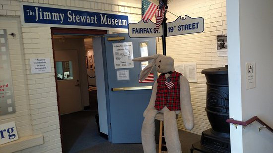 James M. Stewart Museum: outside the museum