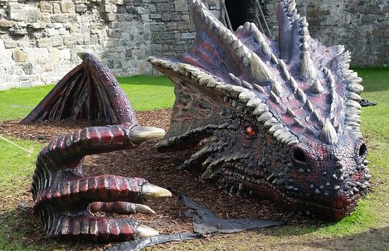 Beaumaris, UK: The Welsh dragon